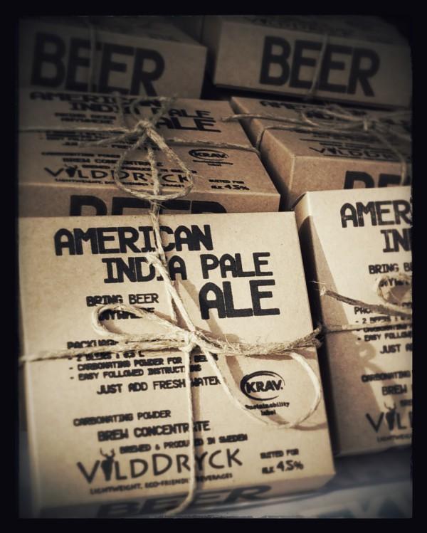 Världens första ölessens för vatten – En öl – 5 gram